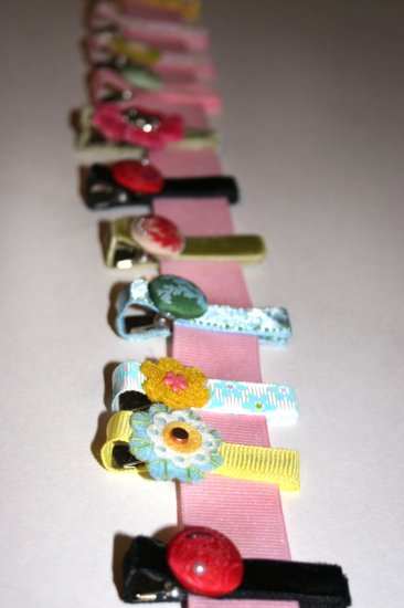 The vintage alligator clip collection