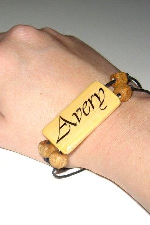 Bamboo Tile Bracelet