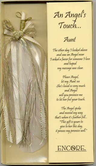 AN ANGEL'S TOUCH FEATHER - AUNT