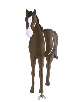 Family Matters Metal Yard Stake HORSE  Whimsical Figure