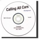 OLD TIME RADIO SHOWS  CALLING ALL CARS 153 EPISODES  OTR