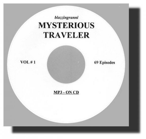 OLD TIME RADIO SHOWS  MYSTERIOUS TRAVELER  69 EPISODES  OTR