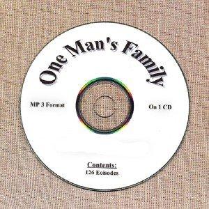 OLD TIME RADIO OTR  ONE  MAN'S FAMILY 126 EPISODES