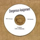 OLD TIME RADIO OTR   DANGEROUS  ASSIGNMENT 86 EPISODES