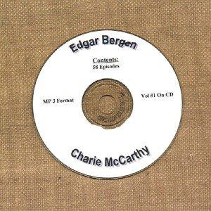 OLD TIME RADIO SHOWS   E. BERGEN & C. McCARTHY VOL #1