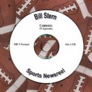 OLD TIME RADIO OTR  BILL STERN SPORTS NEWSREEL 53  EPISODES