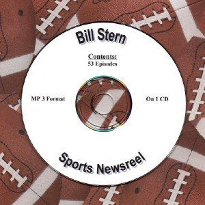 OLD TIME RADIO OTR  BILL STERN SPORTS NEWSREEL 53  EPISODES
