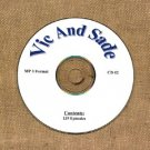 OLD TIME RADIO OTR  VIC AND SADE CD #2  139  EPISODES