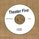 OLD TIME RADIO OTR  THEATER FIVE CD #2  37 EPISODES