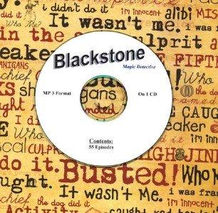 OLD TIME RADIO OTR  BLACKSTONE MAGIC DETECTIVE  55  EPSISODES