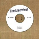 OLD TIME RADIO OTR  FRANK MERRIWELL  39 EPISODES  ON CD