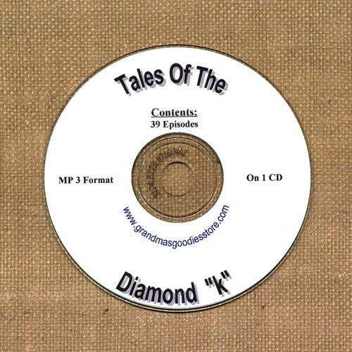 "OLD TIME RADIO OTR  TALES OF THE DIAMOND ""K"" 39  EPISODES"
