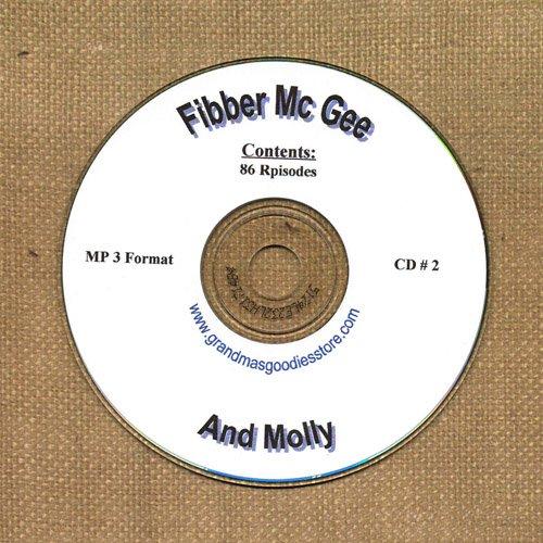 OLD TIME RADIO OTR  FIBBER McGREE & MOLLY CD #2 86  EPISODES