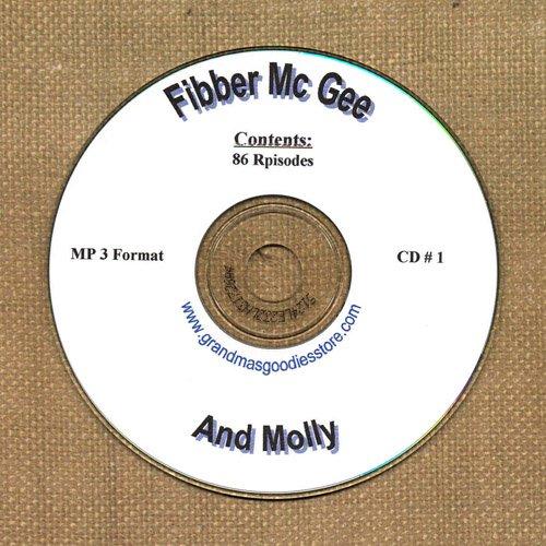 OLD TIME RADIO OTR  FIBBER McGREE & MOLLY CD #1 86  EPISODES