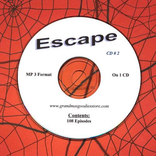 OLD TIME RADIO OTR  ESCAPE CD # 2  108   EPISODES