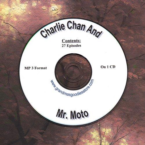 OLD TIME RADIO OTR  CHARLIE CHAN & MR. MOTO 27 EPISODES  ON CD