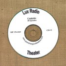 OLD TIME RADIO OTR   LUX RADIO THEATER  CD # 2  40  EPISODES  ON CD