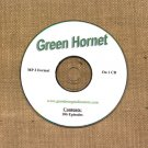 OLD TIME RADIO OTR  GREEN HORNET  106  EPISODES  ON CD