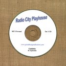 OLD TIME RADIO OTR  RADIO CITY PLAYHOUSE  61 EPISODES  ON CD
