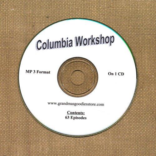 OLD TIME RADIO OTR  COLUMBIA  WORKSHOP  63  EPISODES  ON CD