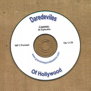 OLD TIME RADIO SHOWS OTR   DAREDAVILES OF HOLLYWOOD 26  EPISODES  ON CD