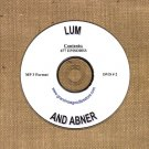 OLD TIME RADIO SHOWS   LUM & ABNER  DVD # 2   677   EPISODES  ON CD