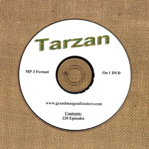 OLD TIME RADIO OTR     TARZAN 220 EPISODES ON DVD