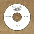OLD TIME RADIO OTR     COURTROOM MIX 43 EPISODES ON CD