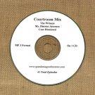 OLD TIME RADIO OTR     COURTROOM MIX 43 EPISODES ON CD