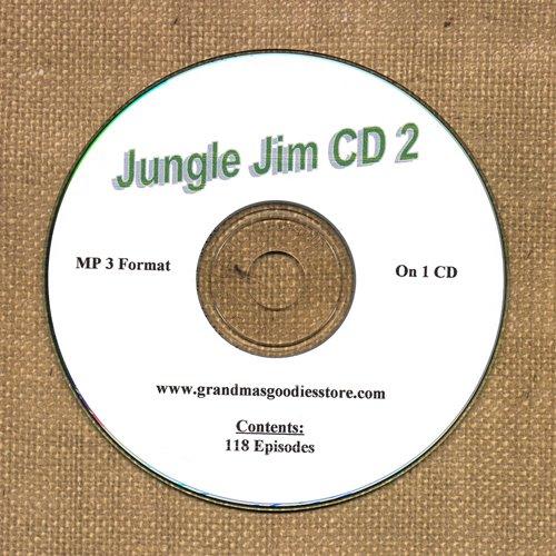 OLD TIME RADIO OTR     JUNGLE JIM CD #2 118   EPISODES ON CD