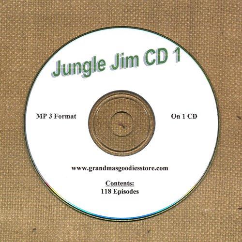 OLD TIME RADIO OTR     JUNGLE JIM CD #1 118   EPISODES ON CD