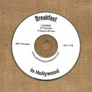 OLD TIME RADIO OTR     BREAKFAST IN HOLLYWOOD 27    EPISODES ON CD