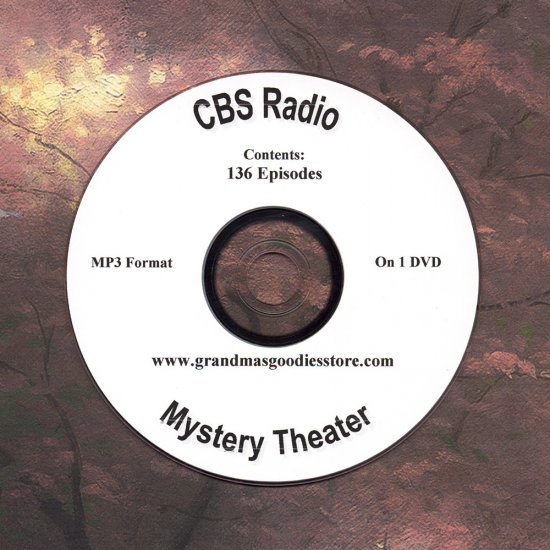OLD TIME RADIO  OTR   CBS MYSTERY THEATER 136 EPS.
