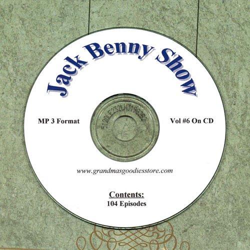 OLD TIME RADIO  OTR  JACK BENNY SHOW  VOL#6 104 SHOWS