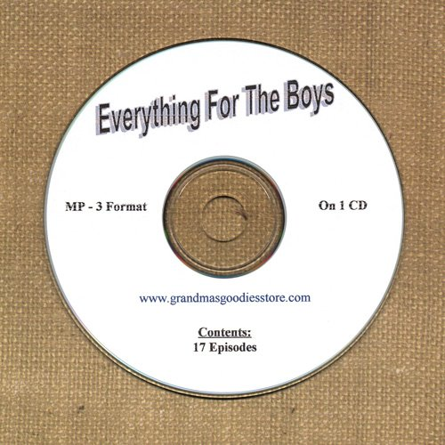 OLD TIME RADIO SHOWS   EVERYTHING FOR THE BOYS 17 EPS.  OTR