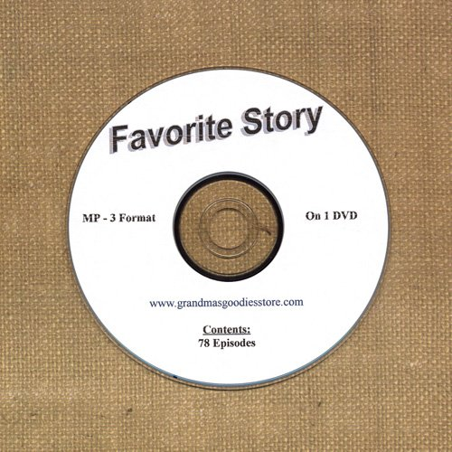 OLD TIME RADIO SHOWS   FAVORITE STORY 78 EPS. ON DVD  OTR