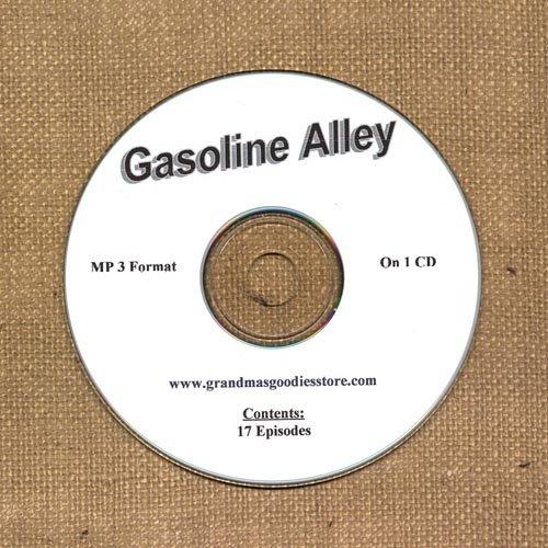 OLD TIME RADIO SHOWS   GASOLINE ALLEY 17 EPS. ON CD  OTR