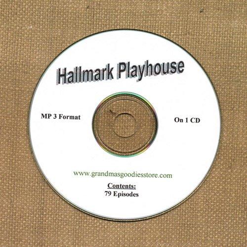 OLD TIME RADIO SHOWS   HALLMARK PLAYHOUSE 79 EPS. ON CD  OTR