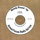 OLD TIME RADIO SHOWS   MELODY ROUND UP 22 EPS. ON CD  OTR