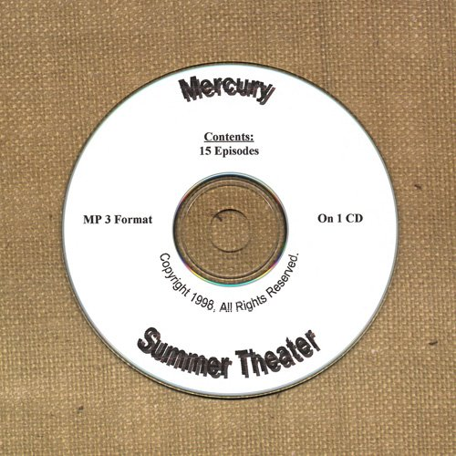OLD TIME RADIO SHOWS   MERCURY SUMMER THEATER 15 EPS. ON CD  OTR