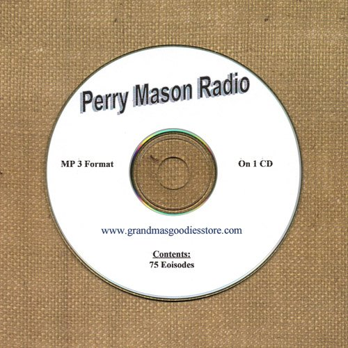 OLD TIME RADIO SHOWS PERRY MASON RADIO 75 EPS. ON CD OTR