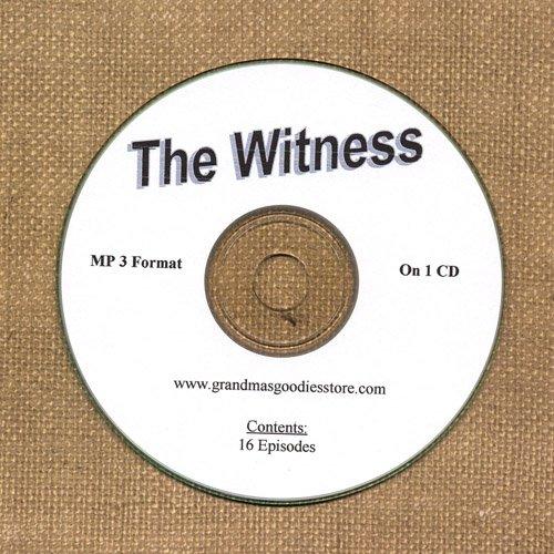 OLD TIME RADIO SHOWS  WITNESS 16 EPS. ON CD OTR