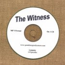 OLD TIME RADIO SHOWS  WITNESS 16 EPS. ON CD OTR