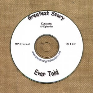 OLD TIME RADIO SHOWS  GREATEST STORY EVER TOLD 45 EPS. ON CD OTR