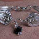 Rodgers 1914 Lakewood Vintage SilverPlated Spoon Bracelet 6 3/4 #012