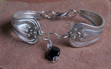 Rodgers 1914 Lakewood Vintage SilverPlated Spoon Bracelet 6 3/4 #012