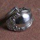 Wallace & Son Joan pattern from 1896 Silver plate Silverware Spoon Ring # 021  SZ 7