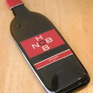 Hob Nob Red Blend Wine Bottle Flattened (slumped) Liqueur/wine bottle