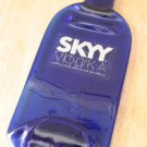 Skyy Vodka bottle Flattened (slumped) Liqueur/wine bottle
