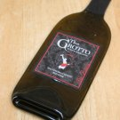 The Grotto Wine bottle Flattened (slumped) Liqueur/wine bottle